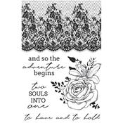 Two Souls Clear Stamps - Kaisercraft