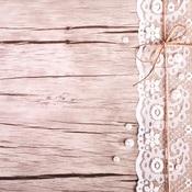 Lace & Wood Paper - Vintage Lace - Reminisce