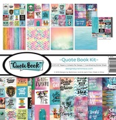 Quote Book Collection Kit - Reminisce