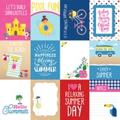 3X4 Journaling Cards Paper - I Love Summer - Echo Park