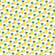 Pineapple Paradise Paper - I Love Summer - Echo Park