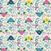 Summer Floral Paper - I Love Summer - Echo Park