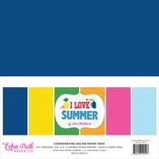 I Love Summer Solids Kit - Echo Park - PRE ORDER