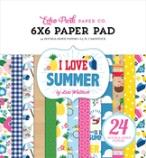 I Love Summer 6x6 Paper Pad - Echo Park