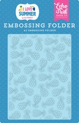 Summer Pineapples Embossing Folder - Echo Park