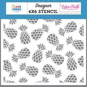 Pineapple Paradise Stencil - Echo Park