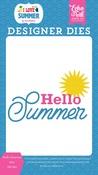 Hello Summer Sun Die Set - Echo Park