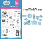It's Summer Time Die & Stamp Set - Echo Park