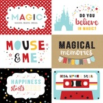 6X4 Journaling Cards Paper - Magical Adventure 2 - Echo Park