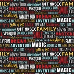 Dream Big Words Paper - Magical Adventure 2 - Echo Park