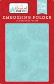 Firework Magic Embossing Folder - Echo Park