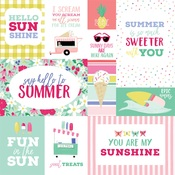Multi Journaling Cards Paper - Best Summer Ever - Echo Park