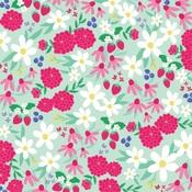 Sunshine Floral Paper - Best Summer Ever - Echo Park