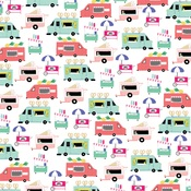 Food Trucks Paper - Best Summer Ever - Echo Park