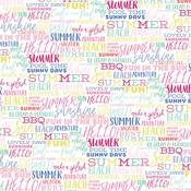 Summer Words Paper - Best Summer Ever - Echo Park