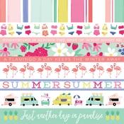 Border Strips Paper - Best Summer Ever - Echo Park