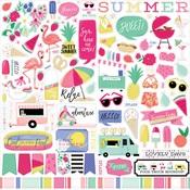 Best Summer Ever Element Sticker - Echo Park