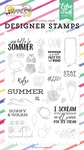 Say Hello To Summer Stamp Set - Echo Park