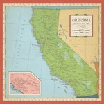 California Map Paper - Cartography - Carta Bella
