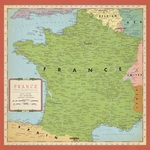 France Map Paper - Cartography - Carta Bella