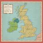 Great Britain Map Paper - Cartography - Carta Bella