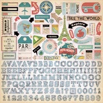 Cartography No. 1 Element Sticker - Carta Bella