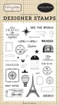 See The World Stamp Set - Carta Bella