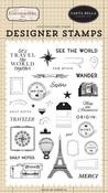 See The World Stamp Set - Carta Bella