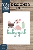 Baby Girl Add-On Die Set - Echo Park