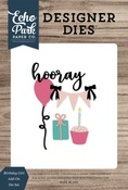 Birthday Girl Add-On Die Set - Echo Park - PRE ORDER
