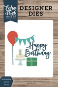 Birthday Boy Add-On Die Set - Echo Park - PRE ORDER