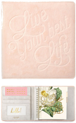 Ballet Pink Velvet Small Creative Photo Album - Websters Pages - PRE ORDER
