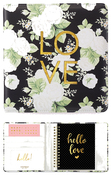 Black Floral Small Creative Photo Album - Websters Pages - PRE ORDER
