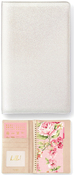 White Glitter Tall Creative Photo Album - Websters Pages - PRE ORDER