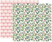 Vintage Bouquet Paper - Color Crush Creative Photo Album - Websters Pages - PRE ORDER