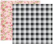 Plaid & Flowers Paper - Color Crush Creative Photo Album - Websters Pages - PRE ORDER
