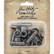 Idea-Ology Metal Hinge Clip Large - Tim Holtz