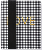 A5 Black Check Binder Only - Websters Pages - PRE ORDER