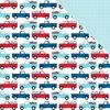 Truck Parade Paper - Fireworks & Freedom - Bella Blvd