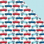 Truck Parade Paper - Fireworks & Freedom - Bella Blvd - PRE ORDER