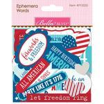 Ephemera Cardstock Die-Cuts - Fireworks & Freedom - Bella Blvd
