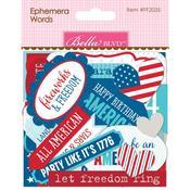 Ephemera Cardstock Die-Cuts - Fireworks & Freedom - Bella Blvd - PRE ORDER