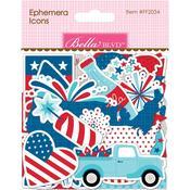Fireworks & Freedom Ephemera Cardstock Die-Cuts - Bella Blvd