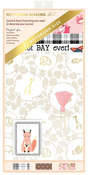 Gold Animals Notebook Making Kit - A5 - Websters Pages - PRE ORDER