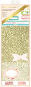 Bright Gold Glitter Notebook Making Kit - Personal Size - Websters Pages - PRE ORDER