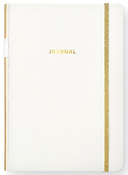 Bullet Journal - White PU Leather - Websters Pages - PRE ORDER