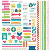Cardstock Sticker - Home Sweet Home - Bella Blvd - PRE ORDER