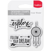 Follow Your Dreams ScrapBerrys Clear Stamps