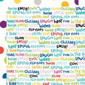 Word Jumble Paper - Splash Zone - Bella Blvd
