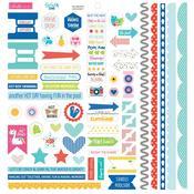 Splash Zone Cardstock Stickers - Bella Blvd